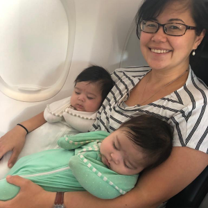 Flying with Twins